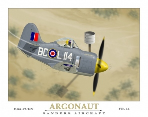 Argonaut Sander's Aircraft Sea Fury FB11