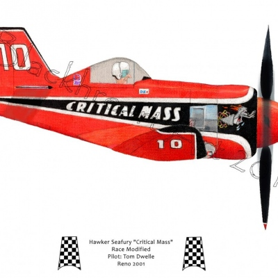 "Hawker Seafury ""Critical Mass"""