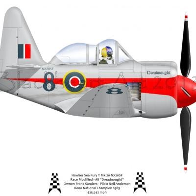 """Hawker Sea Fury """"Dreadnought"""""""