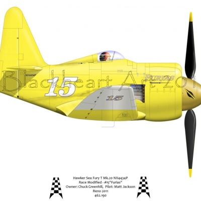 "Hawker Sea Fury ""Furias"" 2013"
