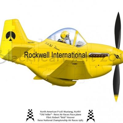 "North American P-51D ""Old Yeller"""