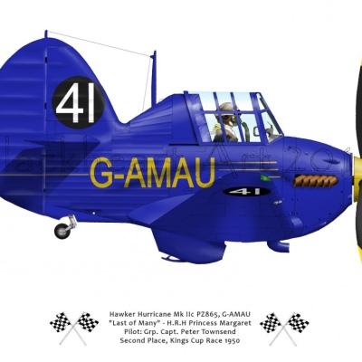 "Hawker Hurrican Mk IIc ""Last of Many"""