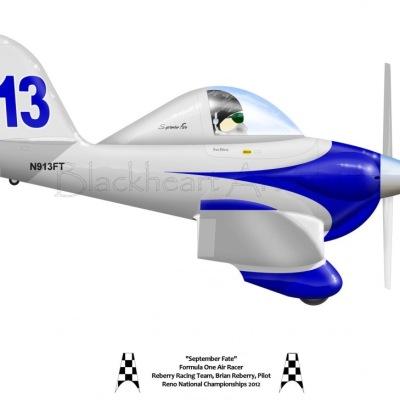 "Formula One Air Racer ""September Fate"""