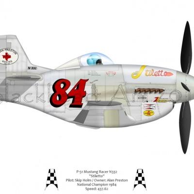 "P-51D Mustang ""Stiletto"""