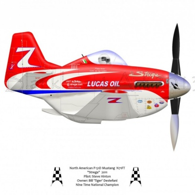 "North American P-51D ""Strega"" 2011"