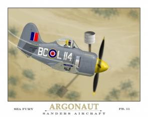 Argonaut Sander's Aircraft Sea Fury FB11