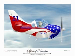 """Lancair Legacy """"Spirit of America"""""""