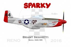 P51D Sparky 2016
