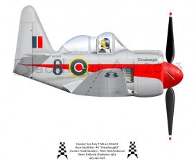 "Hawker Sea Fury ""Dreadnought"""