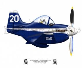 North American P-51D Race 20
