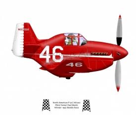 North American P-51C Race 46