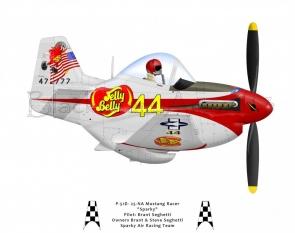 """P-51D """"Sparky"""""""