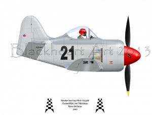 Hawker Sea Fury Race 21