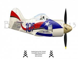 "Hawker Sea Fury ""Spirit of Texas"""