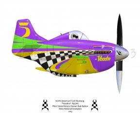 "North American P-51D Mustang ""Voodoo"" 2013"