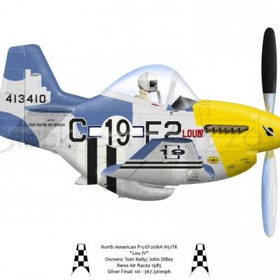 P51D Lou IV