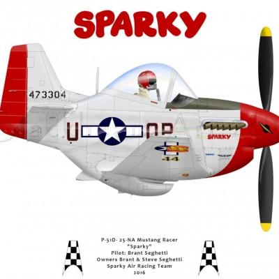 P-51D Sparky