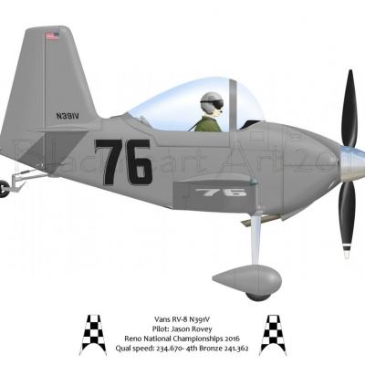 RV8 Race 76