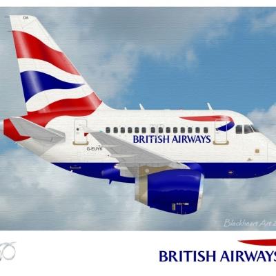 A320 British Airway