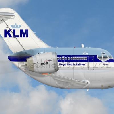 KLM DC-9