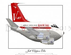 707 Jett Clipper Ella