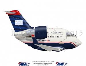 Bombardier Canadair CRJ-200 US Airways Express