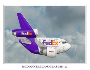 """McDonnell Douglas MD-11 """"Fed Ex"""""""