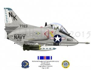 A-4C VA-146 DFC