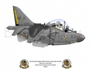 AV8B  VMA- 542