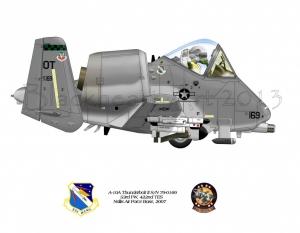 A-10A Thunderbolt II 422nd TESS