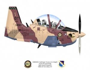 EMBRAER A-29B Super Tucano