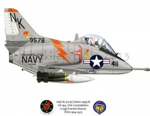 A4D-N2 (A-4C) USS Constellation