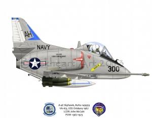 A-4E Skyhawk USS Oriskany