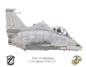 A-4M Skyhawk El Toro, CA