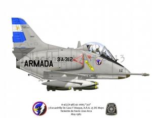 A-4Q Argentin Navy Falklands