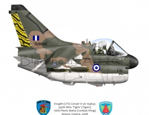 A-7 Corsair II Araxos, Greece
