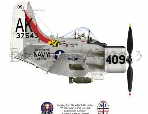 Douglas A-1H Skyraider USS Intrepid