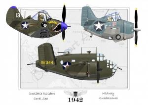 Plame ofFame Special Air Show Print 12x17