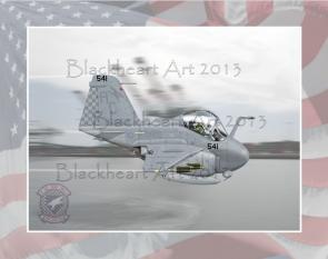 A-6 Intruder Low Level