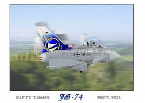 JG-74 50 Ann. Print Special 12x17