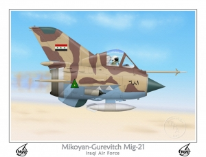 Mig21 Iraqi