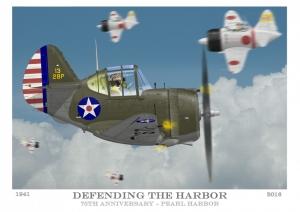 Pearl Harbor print