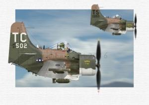 USAF Skyraiders