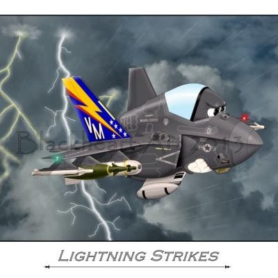 """F-35 """"Lightning Strikes"""""""
