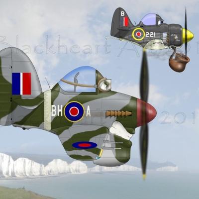 Hawker Typhoon / Seafury