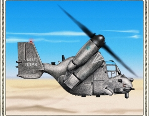 MV22 Osprey, Color Pencil