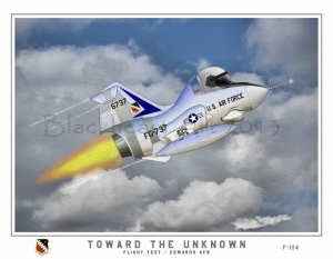 """Toward the Unknown"" F-104"