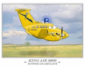 """""""King Air B200"""""""
