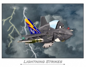 "F-35 ""Lightning Strikes"""