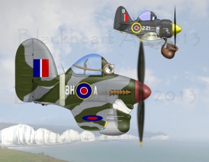 Hawker Typhoon / Seafury